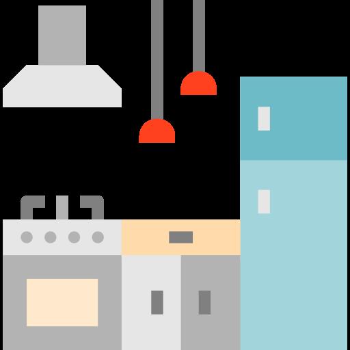 kitchen design layout icon