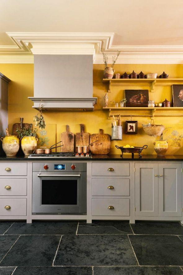 marigold kitchen paint color