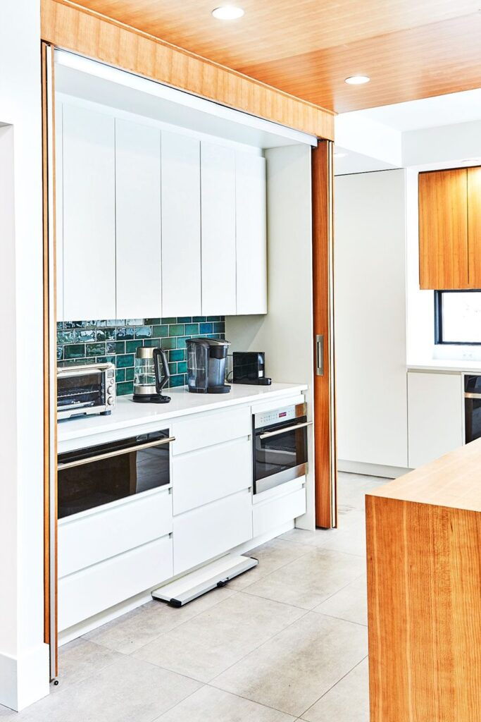 small kitchen space saving design inspiration for a studio apartment